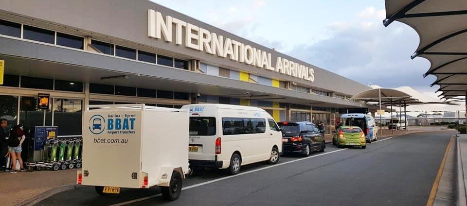 BBAT Airport Shuttle Bus